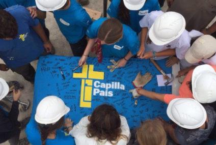 En sólo 10 días estos jóvenes te construyen una capilla