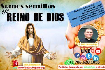 Somos semillas del Reino de Dios – Junio 2 de 2020