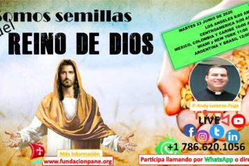 Somos semillas del Reino de Dios – Junio 23 de 2020