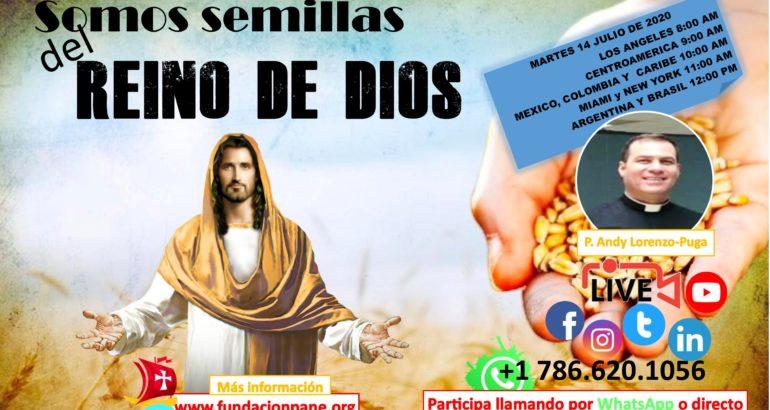 Somos semillas del Reino de Dios – Julio 14 de 2020
