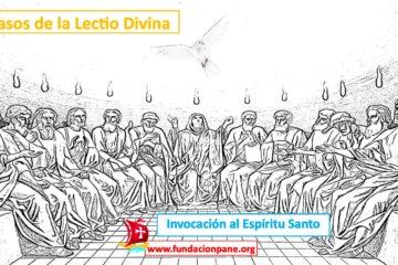 Lectio Divina: Invocación al Espíritu Santo