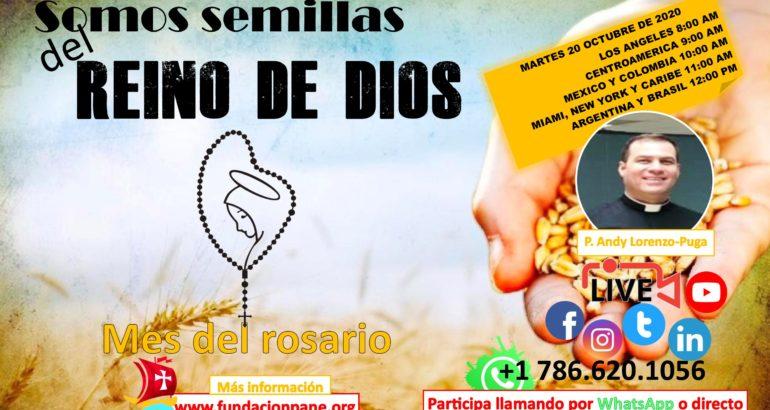 Somos semillas del Reino de Dios – Mes del Rosario