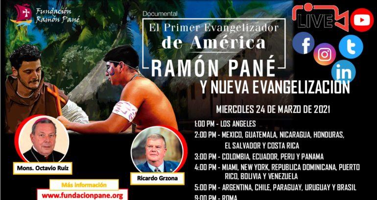 Primer Evangelizador de América, Ramón Pané y Nueva Evangelización