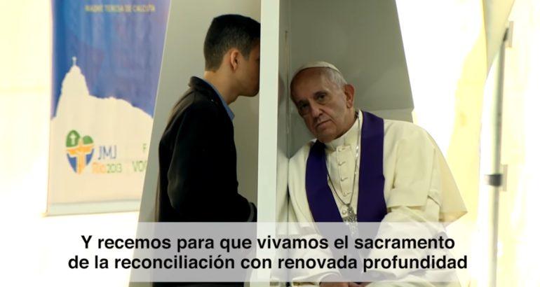 El Vídeo del Papa: Marzo 2021 – El sacramento de la reconciliación
